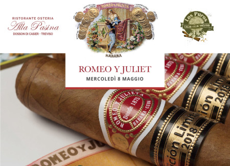 Romeo Y Julieta limited edition 2018