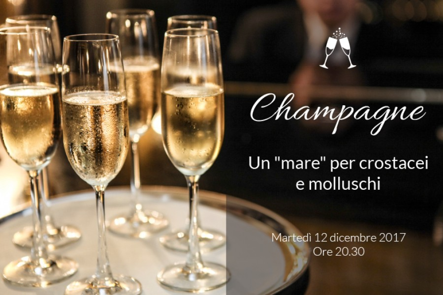 """Champagne: un """"mare"""" per crostacei e molluschi"""