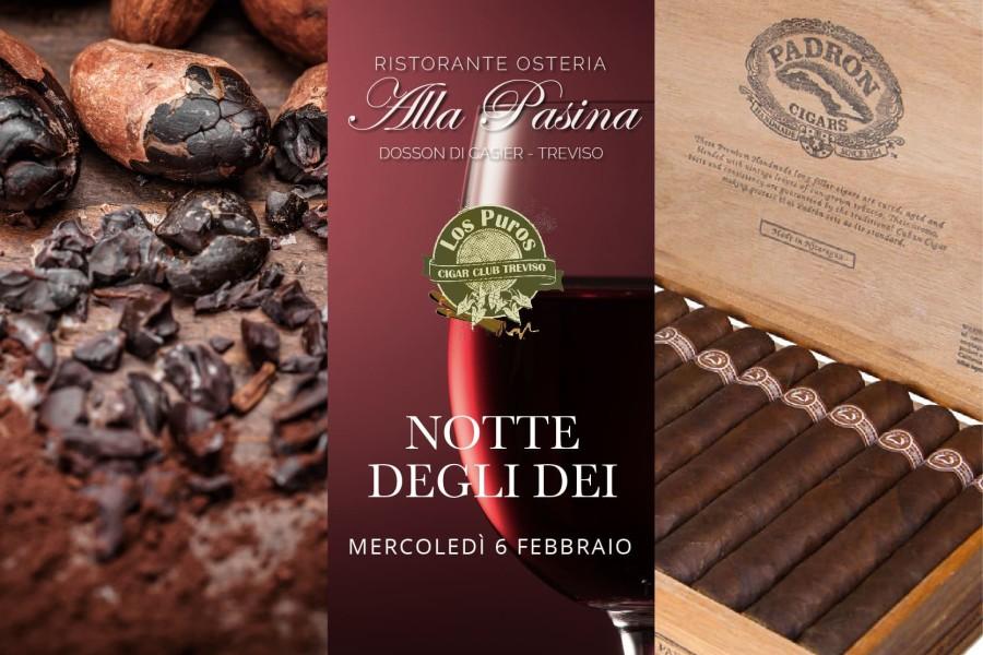 Notte degli Dei – cacao, vino e tabacco