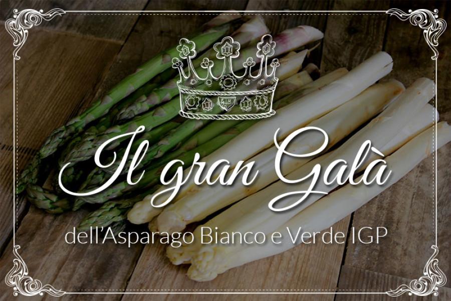 Gran Galà dell'Asparago bianco e verde I.G.P.