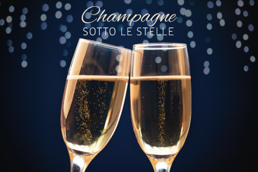 Champagne sotto le stelle