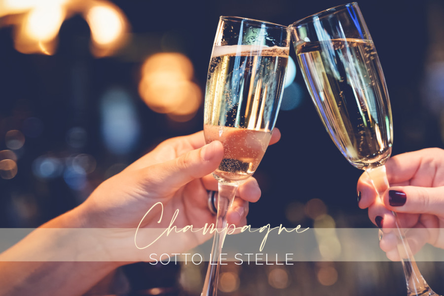 A scuola con il Sommelier – Champagne sotto le stelle
