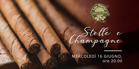 Los Puros Cigar Club Treviso: serata stelle e Champagne